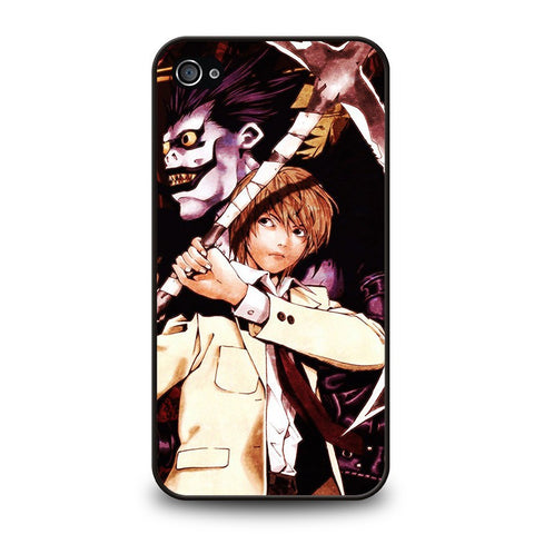 DEATH-NOTE-RYUK-AND-LIGHT-iphone-4-4s-case-cover