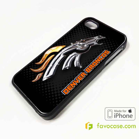 DENVER BRONCOS Football Team NFL iPhone 4/4S 5/5S/SE 5C 6/6S 7 8 Plus X Case Cover