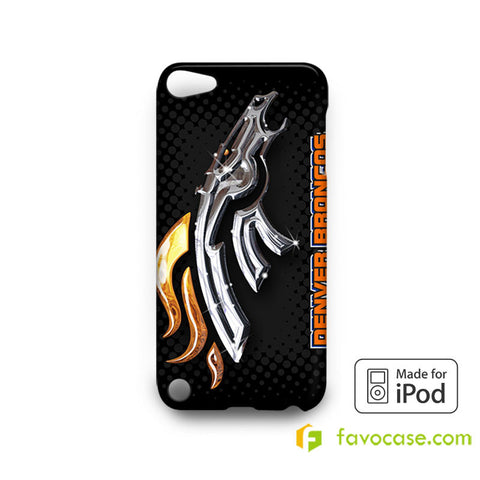 DENVER BRONCOS Football Team NFL iPod Touch 4, 5 Case Cover