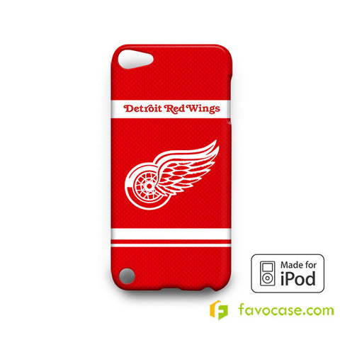 DETROIT RED WINGS  iPod Touch 4 5 6 Case