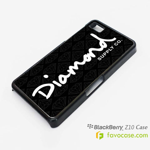 DIAMOND SUPPLY .co 1 Blackberry Z10 Q10 Case Cover