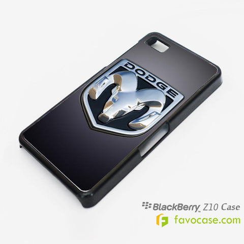 DODGE Car Logo Blackberry Z10 Q10 Case Cover