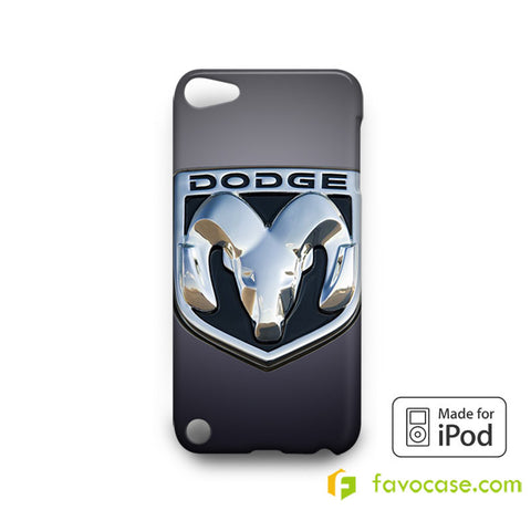 DODGE Car Logo iPod Touch 4, 5 Case Cover