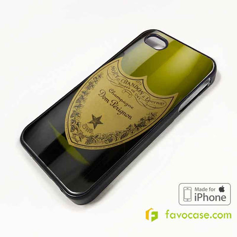 DOM PERIGNON Champagne iPhone 4/4S 5/5S/SE 5C 6/6S 7 8 Plus X Case Cover