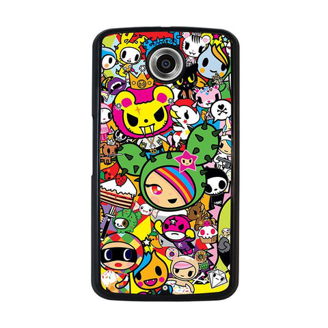 DONUTELLA-UNICORNO-TOKIDOKI-COLLAGE-nexus-6-case-cover