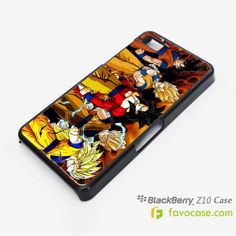 DRAGON BALL 1 Son Goku Super Saiyan Blackberry Z10 Q10 Case Cover