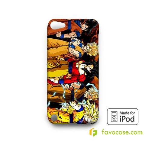 DRAGON BALL 1 Son Goku Super Saiyan iPod Touch 4, 5 Case Cover