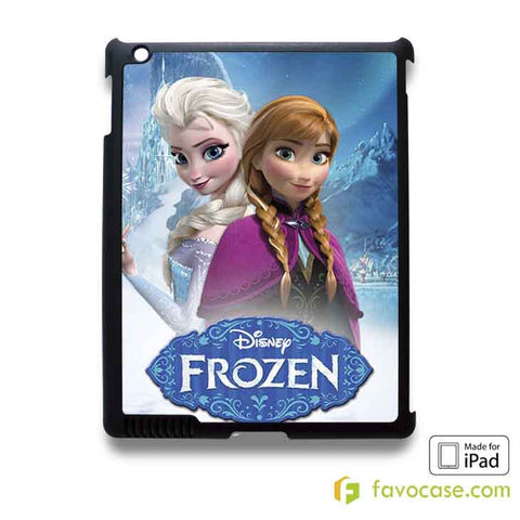 ELSA AND ANNA FROZEN iPad 2 3 4 5 Air Mini Case Cover