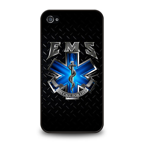 EMT-EMS-MEDICAL-Logo-iphone-4-4s-case-cover