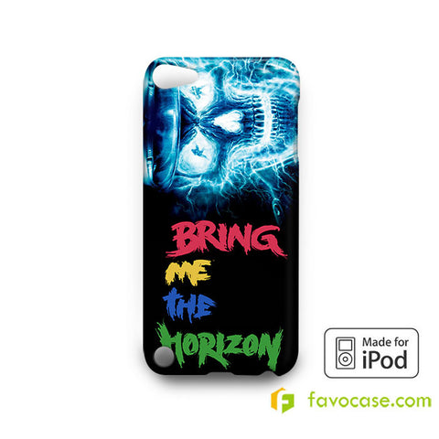 Electric skull bone  iPod Touch 4 5 6 Case