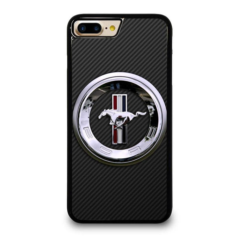 FORD MUSTANG LOGO iPhone 4/4S 5/5S/SE 5C 6/6S 7 8 Plus X Case Cover