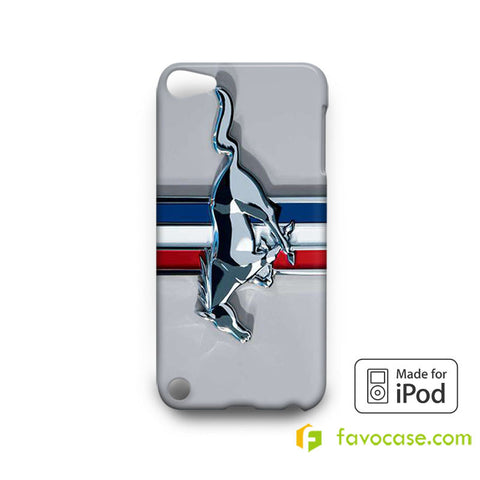 FORD MUSTANG Car Logo  iPod Touch 4, 5 Case Cover