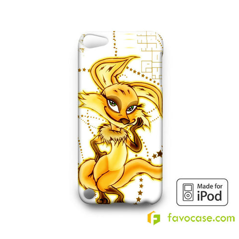 FOX VULPES SPLASH  iPod Touch 4 5 6 Case