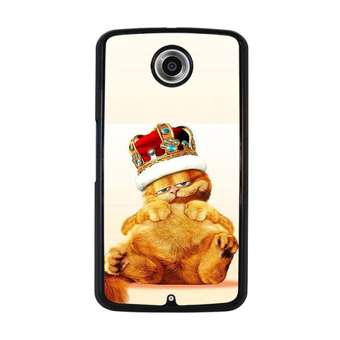 GARFIELD-GARFIELD-King-Of-Lazy-Cat-nexus-6-case-cover
