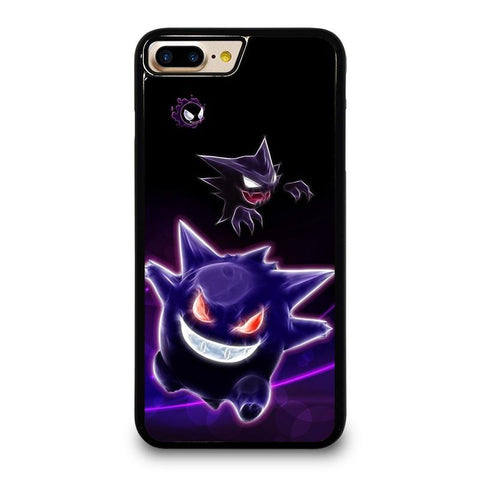 GENGAR POKEMON iPhone 4/4S 5/5S/SE 5C 6/6S 7 8 Plus X Case Cover