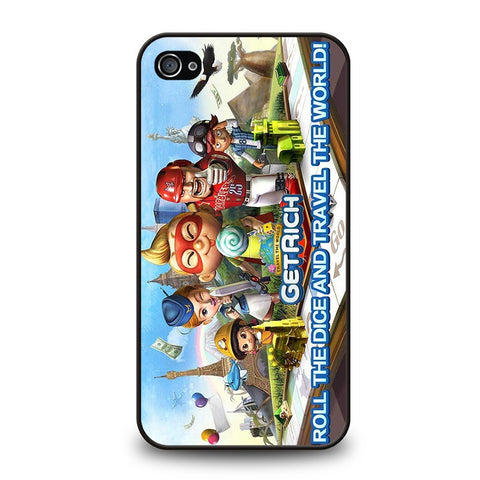 get-rich-game-travel-the-world-iphone-4-4s-case-cover