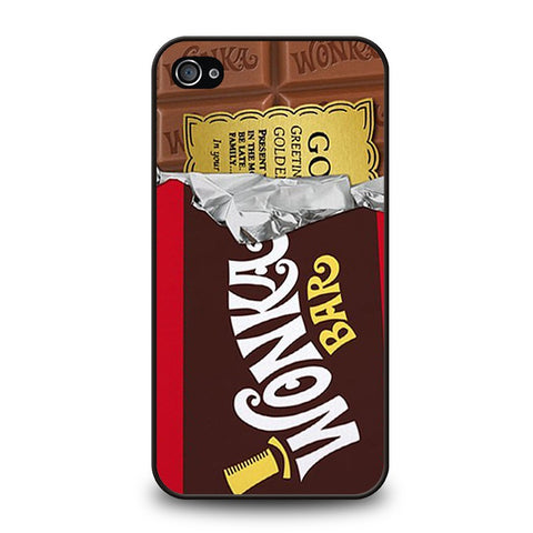 golden-ticket-chocolate-wonka-bar-iphone-4-4s-case-cover