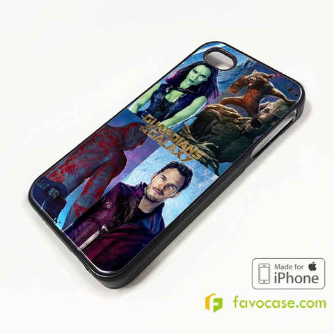 GUARDIANS OF THE GALAXY Marvel iPhone 4/4S 5/5S 5C 6 6 Plus Case Cover