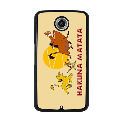 HAKUNA-MATATA-LION-KING-Disney-nexus-6-case-cover
