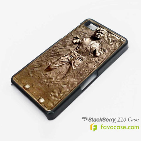 HANS SOLO Frozen in Carbonite Star Wars Blackberry Z10 Q10 Case Cover