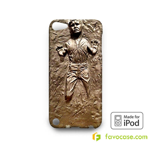 HANS SOLO Frozen in Carbonite Star Wars iPod Touch 4, 5 Case Cover
