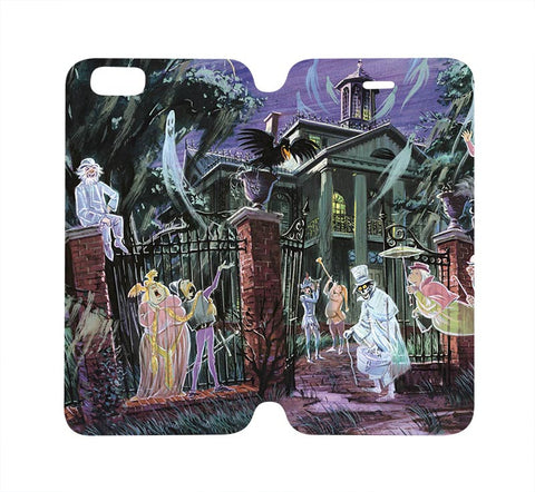haunted-mansion-wallet-flip-case-for-iphone-4-4s-5-5s-5c-6-6s-plus-samsung-galaxy-s4-s5-s6-edge-note-3-4