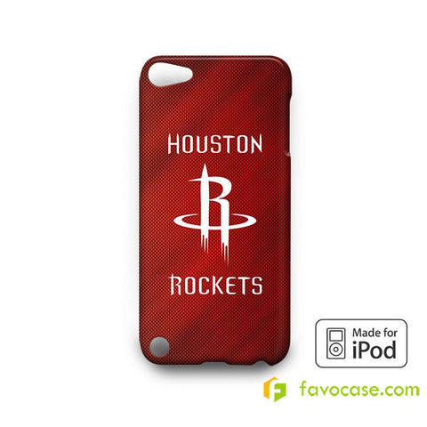 HOUSTON ROCKETS  iPod Touch 4 5 6 Case