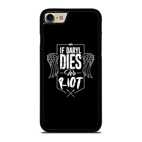 IF DARYL DIXON DIES WALKING DEAD Case for iPhone, iPod and Samsung Galaxy - best custom phone case