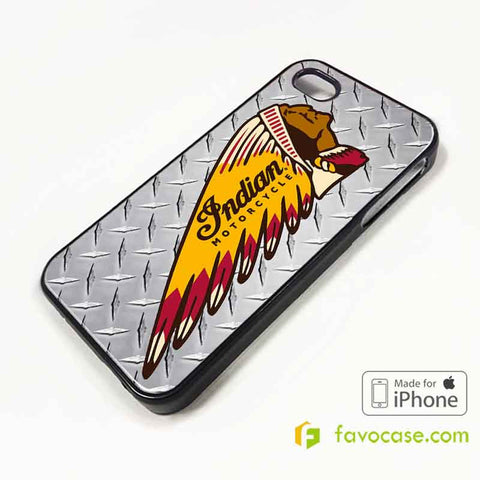 INDIAN MOTORCYCLE Logo iPhone 4/4S 5/5S 5C 6 6 Plus Case Cover