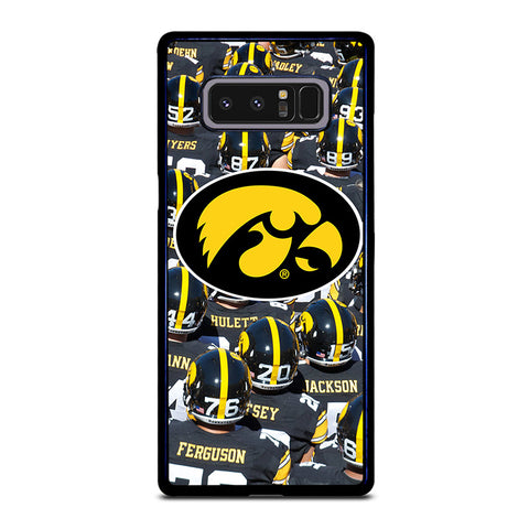 IOWA HAWKEYES FOOTBALL-samsung-galaxy-note-8-case-cover