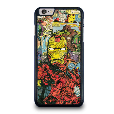 IRON-MAN-COMIC-COLLAGE-iphone-6-6s-plus-case-cover