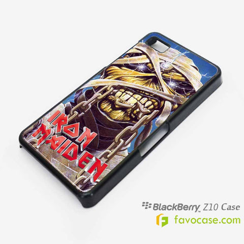 IRON MAIDEN Heavy Metal Band Blackberry Z10 Q10 Case Cover