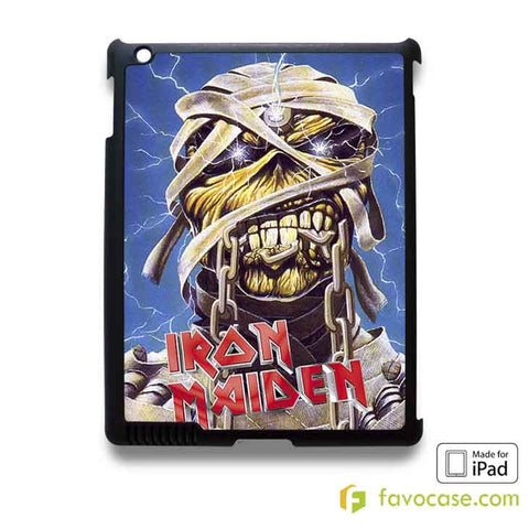 IRON MAIDEN Heavy Metal Band iPad 2 3 4 5 Air Mini Case Cover