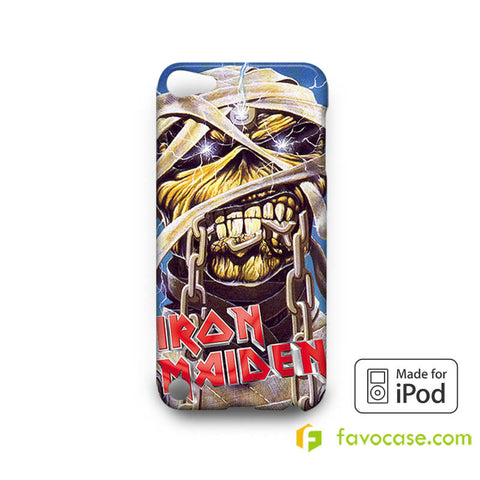 IRON MAIDEN Heavy Metal Band iPod Touch 4, 5 Case Cover