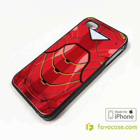 IRON MAN COSTUME Suite Avengers iPhone 4/4S 5/5S 5C 6 6 Plus Case Cover