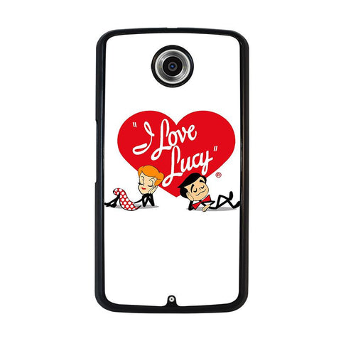 I-LOVE-LUCY-FALLING-LOVE-nexus-6-case-cover