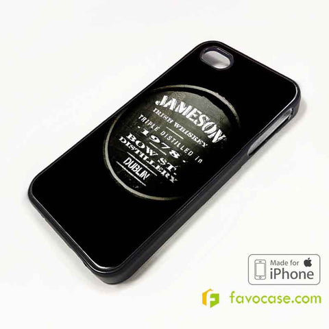 JAMESON Irish Whiskey iPhone 4/4S 5/5S 5C 6 6 Plus Case Cover