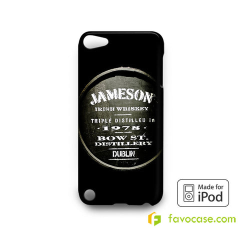 JAMESON Irish Whiskey iPod Touch 4, 5 Case Cover