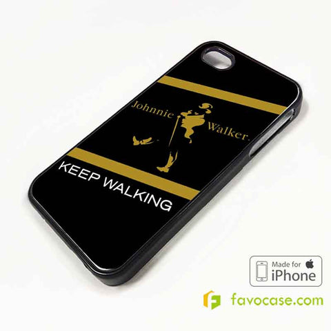JOHNNIE WALKER Scotch whisky iPhone 4/4S 5/5S 5C 6 6 Plus Case Cover