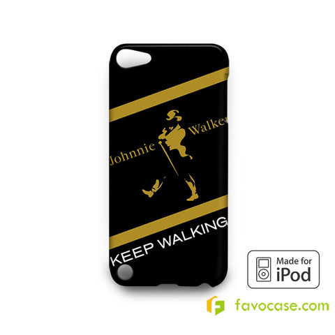 JOHNNIE WALKER Scotch whisky  iPod Touch 4 5 6 Case