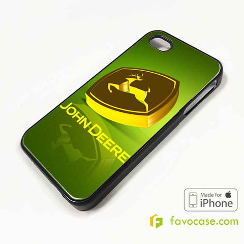 JOHN DEERE Tractor Logo iPhone 4/4S 5/5S 5C 6 6 Plus Case Cover