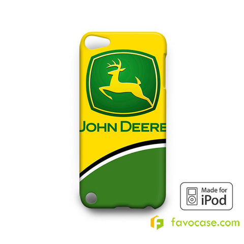 JOHN DEERE 2 Tractor Logo  iPod Touch 4, 5 Case Cover