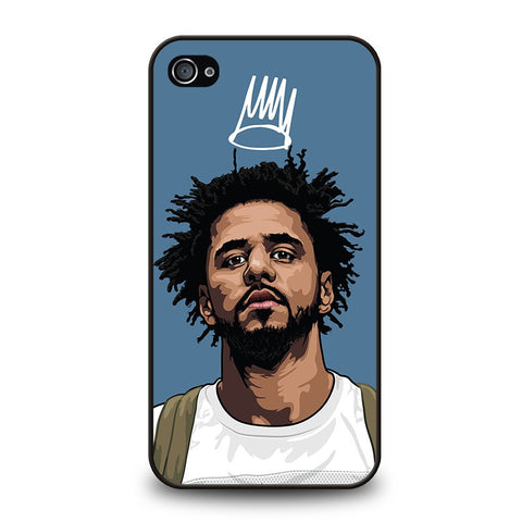 J-COLE-FOREST-CARTOON-iphone-4-4s-case-cover