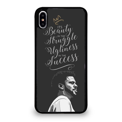 J COLE LYRIC LOVE YOURZ-iphone-xs-max-case-cover