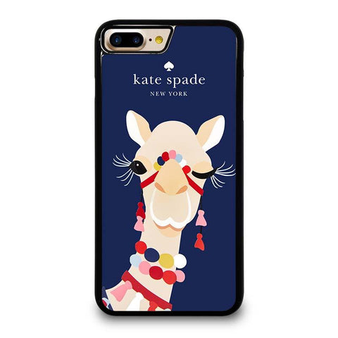 KATE SPADE CAMEL APPLIQUE iPhone 4/4S 5/5S/SE 5C 6/6S 7 8 Plus X Case Cover