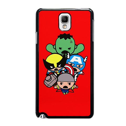kawaii-captain-america-hulk-thor-wolverine-marvel-avengers-samsung-galaxy-note-3-case-cover