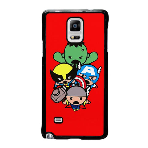 kawaii-captain-america-hulk-thor-wolverine-marvel-avengers-samsung-galaxy-note-4-case-cover