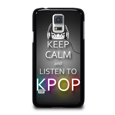 KEEP-CALM-AND-LISTEN-KPOP-samsung-galaxy-s5-case-cover