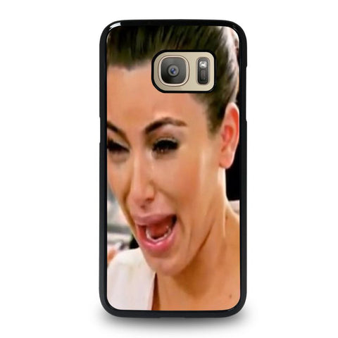 KIM-KARDASHIAN-UGLY-CRYING-FACE-samsung-galaxy-S7-case-cover