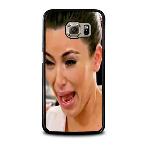 KIM-KARDASHIAN-UGLY-CRYING-FACE-samsung-galaxy-s6-case-cover